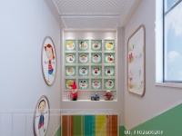幼儿园楼梯间